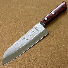 Japanese Kitchen Santoku Knife 170mm 6.7 inch 3 Layers VG-1 Hammer Forged JAPAN