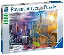 Ravensburger Puzzle 1500 Teile New York im Winter und Sommer