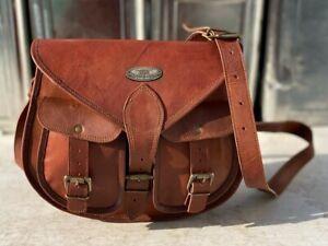 13 Inch Leather Satchel Women's Shoulder Satchel Sling Bag Professional Use