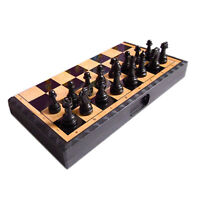 Classic Chess Set Folding Chessboard Magnetic Chessmen Chess Game Board Game