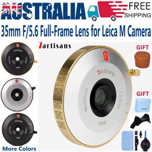 7artisans 35mm F5.6 Compact Full-Frame Pancake Lens for Leica M 10 D E P Camera