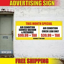 Special Banner Advertising Vinyl Sign Flag sale air condition service check open