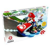 Winning Moves Mario Kart Funracer Children Jigsaw Puzzle 1000 Pieces