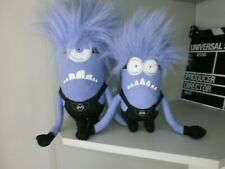 DESPICABLE ME 2   EVIL  x 2  SOFT TOYS
