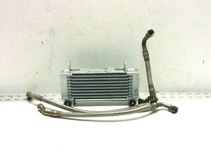 93-99 DUCATI MONSTER M900 ENGINE OIL COOLER RADIATOR, LINES 900SS RELOCATION 98