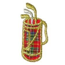 IRON ON PATCH APPLIQUE - GOLF BAG MINI