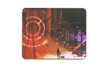 Futuristic Industrial Art Scene Mouse Mat Pad - Cool Gaming Gift Computer #14023