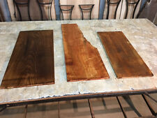"37"" X 15"" X 3/4"" ASSORTED RECLAIMED BOARDS! LUMBER! 3 RUSTIC BOARDS! Z-190"