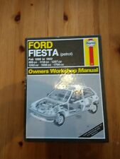 Ford Fiesta Petrol Feb 1989 To 1993 Models Haynes Manual