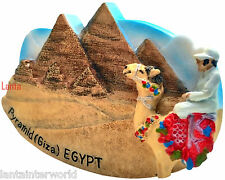 Great Pyramid Giza Cairo Egypt  Resin 3D Fridge Magnet Holiday Refrigerator New