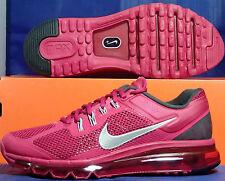 Womens Nike Air Max+ 2013 Sport Fuchsia Hot Pink Silver SZ 7.5 ( 555363-602 )