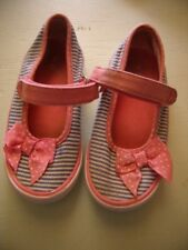 Girl's pink summer shoes / sandals TU size 7 uk Good used condition