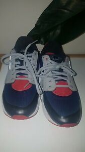 Lorna Jane Elevate 18 Sneakers Runners Shoes Navy Grey Red Size AU 6  US 7 EU 37