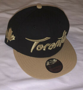 Men's Toronto Raptors New Era City Edition On Court 9FIFTY Adjustable Hat NWT