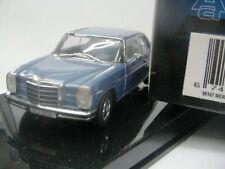 WOW EXTREMELY RARE Mercedes W115/8 280C Blue 1:43 Auto Art-200/W114/Minichamps