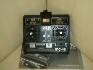 Graupner Sender mc-16 -- 35 MHz --