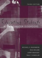 Educating Students with Behavior Disorders by Larry Maheady, Paul T....