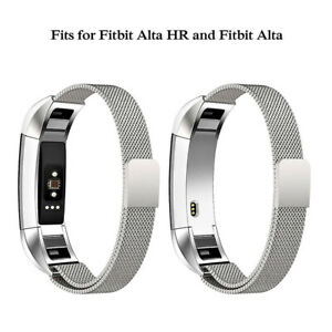Stainless Steel Strap Wrist Watch Band For Fitbit Alta / Alta HR Fitness Tracker