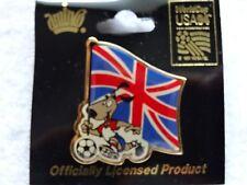 Fifa World Cup USA 1994      ENGLAND    *Football Soccer* Official Logo Pin Back