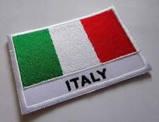 ITALY ITALIA ITALIAN NATIONAL FLAG Sew on Patch Free Postage