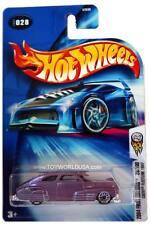 2004 Hot Wheels #028 First Editions 1947 Chevy Fleetline 0714C card