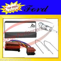 FORD Focus Escort Mondeo Fiesta Radio Blende Einbau Rahmen Adapter Kabel Bügel