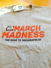 "NCAA Mens Basketball - ""MARCH MADNESS"" - New  2015 Championship Bracket T-Shirt"