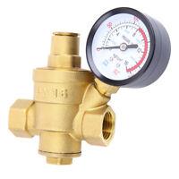 Dn15 NPT 1/2'' Druckminderer Druckregler Druckventil Für Wasser Mit Manometer DE