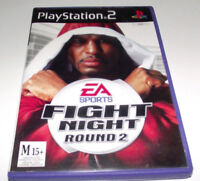 Fight Night Round 2 PS2 PAL *No Manual*