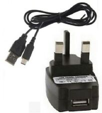 USB Charging Sync Cable With Mains Charger For Nintendo 2DS 3DS 3DS XL