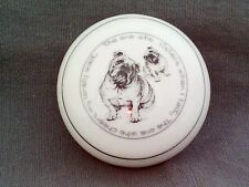Bulldog Trinket Pot Elgate-The one who listens when I talk, cheers lonely walk