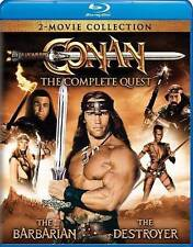 Conan: The Complete Quest (Conan the Barbarian / Conan the Destroyer) [Blu-ray]