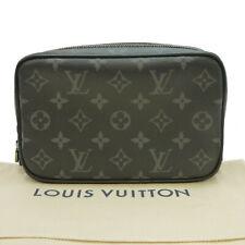 Auth LOUIS VUITTON Trousse Toilette PM Pouch Monogram Eclipse M43384 #S410106