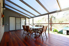 GREY Tint Corrugated Polycarbonate Pergola Patio Roofing 7200Lx860Wx0.8mm Thick