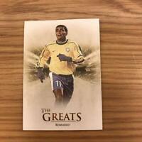 Romario Futera Unique Soccer Card 2018 Brazil English NM The Greats