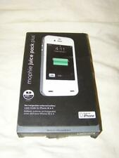 Mophie juice pack PRO Battery Case W/holster iPhone 4s/4-Black 2500mAh NEW