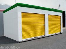 DuroSTEEL JANUS 8'x9' Commercial 1000I Series Insulated Roll-up Door DiRECT