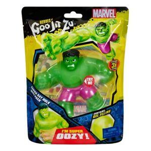 "Heroes of Goo Jit Zu Marvel Gamma Ray Hulk Hero Pack 4"" Action Figure"