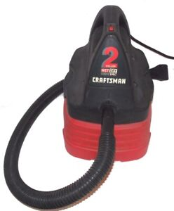 Craftsman 2 Gallon Wet/Dry Vac With 4 Foot Hose & Car Nozzle 113.177110 Used