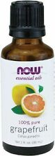 NOW Foods Grapefruit Essential Oil For Diffusers & Burners 1oz. Bottle Free Ship