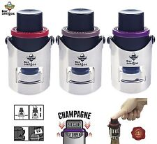 Triple pack bar amigos ® champagne pression bouchons épargnants bottle sealers bondes
