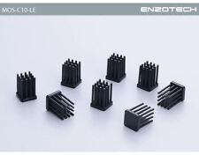 ENZO TECH Forged Copper Heat Dissipation MOSFET Heatsink (10pcs) - MOS-C10-LE