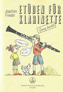 Joachim Friedel  ETÜDEN FÜR KLARINETTE  Friedrich Hofmeister Musikverlag