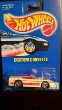 Hot Wheels 1991 # 200 Custom Corvette New in package never opened