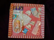 Vintage Barbie Baby Sits Oufit  #0953 *1965* later version-rarer White Gown-NRFB