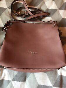 Dusky Pink Red Cuckoo Handbag