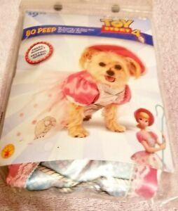 NEW Disney Pixar TOY STORY 4 Dog Costume BO PEEP Large HALLOWEEN Rubie's