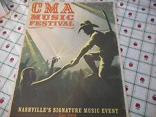 CMA Music Festival Mini Poster