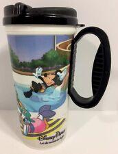 Vintage Disney Parks Whirley Insulated Thermal Mug 16 Oz Mickey Minnie Black Cup