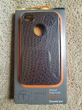 New Tumi T-tech iPhone 4/4s Snap Case Essential Gear Color: Brown
